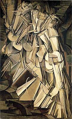 "Duchamp's ""Nude Descending a Staircase No. 2"""