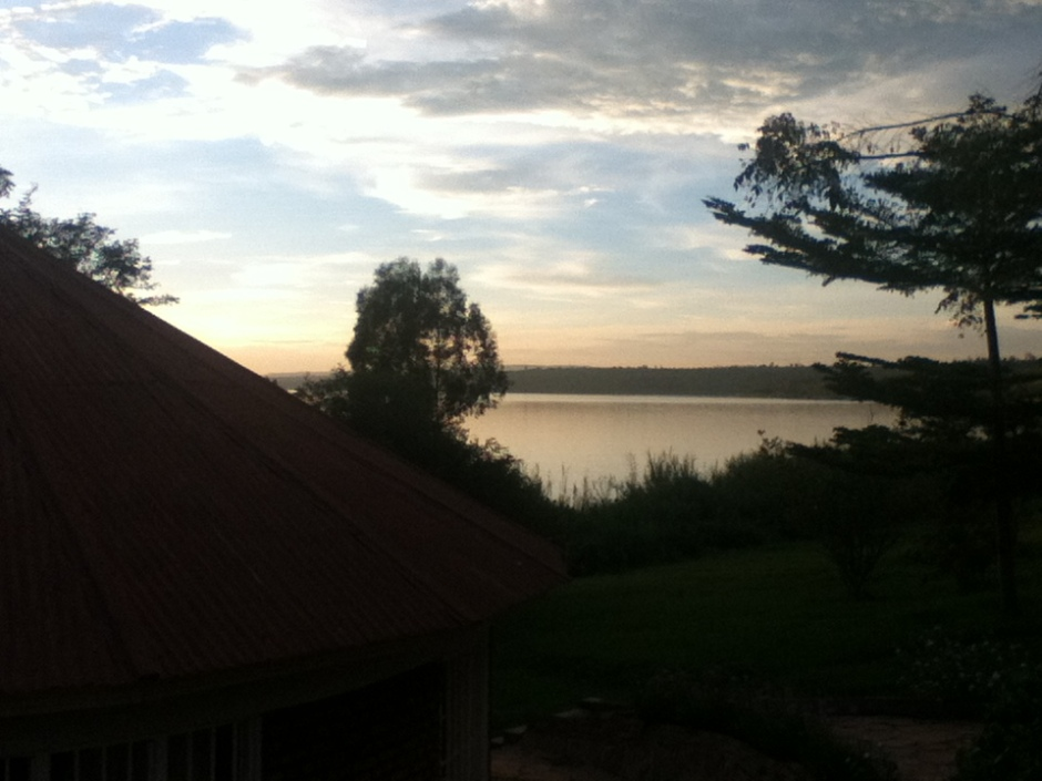 Lake Muhazi at sunset